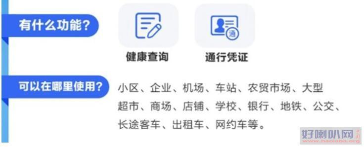 北京健康宝有什么功能?