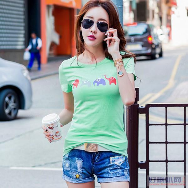 时尚潮流男装T恤批发便宜男式短袖T恤批发韩版T恤便宜T恤批发