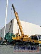 胜辛路3吨叉车出租嘉定35吨吊车出租设备吊装上楼