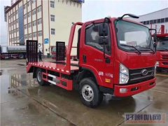 蓝牌拖车介绍--不超重南骏小挖机拖车(160马力)