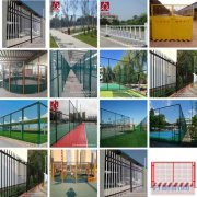 运动场护栏 篮球场围网 电力围栏 锌钢护栏