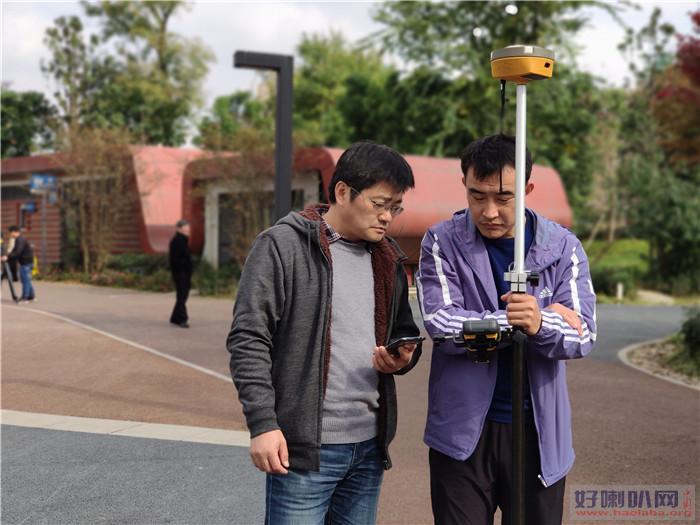 赤峰测量培训小班学习全站仪实操