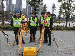 六盘水导线测量学习班测量仪器实战学习