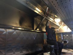 滁州酒店油烟机清洗公司 饭店厨房排油烟系统清洗