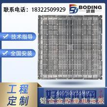 内蒙古乌兰察布市优品质铝合金防静电地板的特点