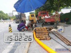 淮南市潘集区专业排水管网改造修复短管内衬置换非开挖修复短管焊