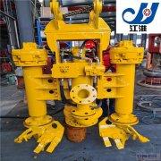 高铬液压清淤泵 挖掘机液压排稠泥泵 水陆两用很方便