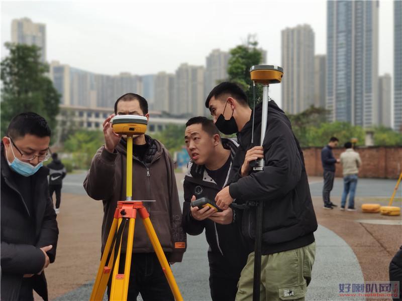 厦门市政测量放线学习实战测量培训班