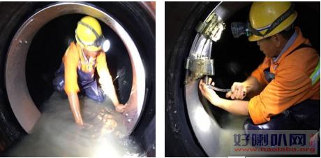 济南市天桥区市政管道改造置换管道破损塌方修复短管内衬置换修复